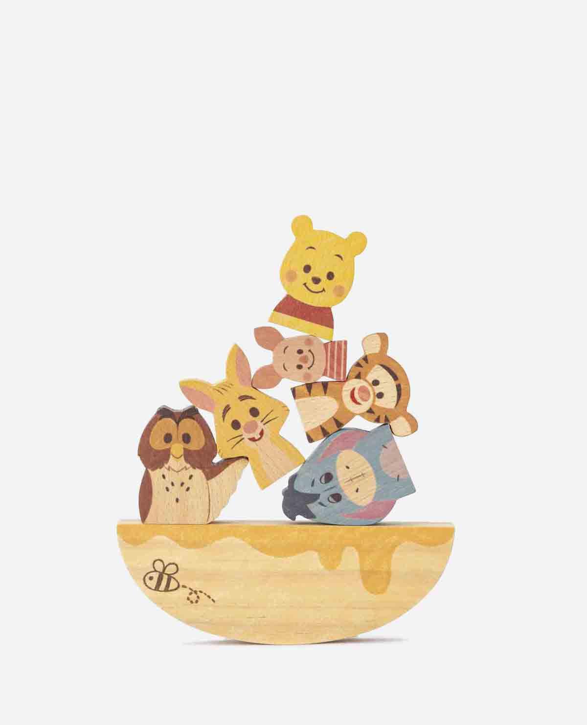 ディズニー キディア ブロック バランス ゲーム くまの プーさん となかまたち 積み木