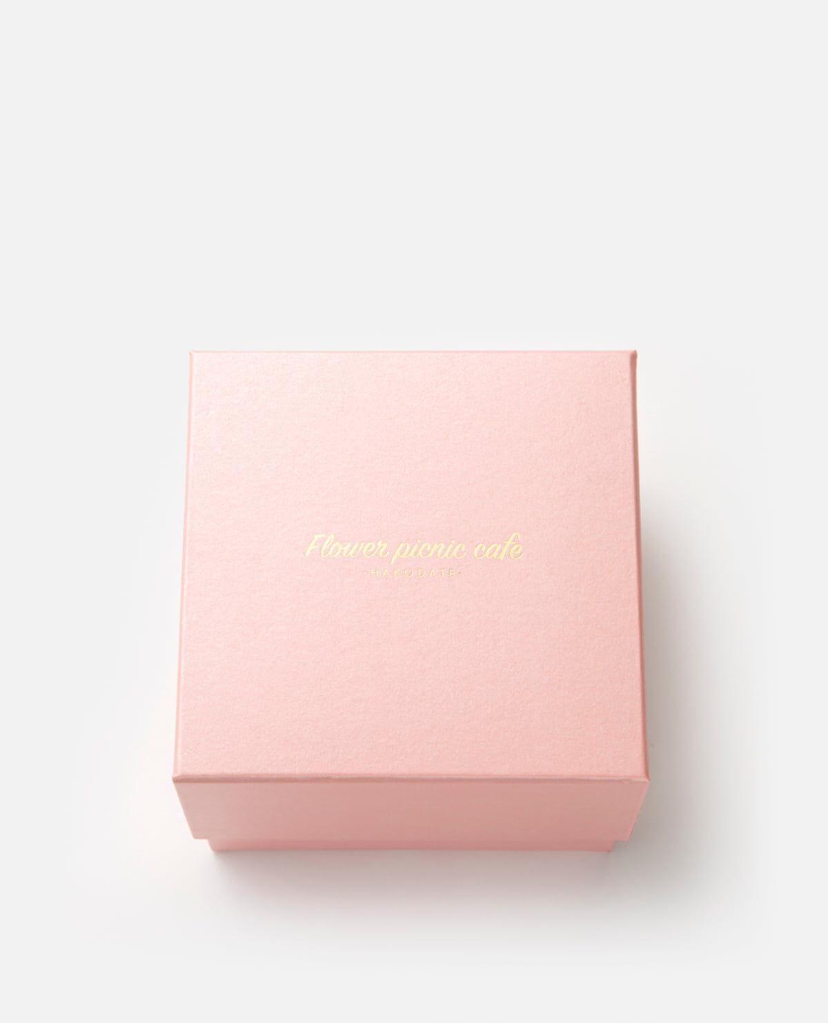 ブロッサムピンク食べられるお花のケーキ プレミアムボックスフラワーケーキ