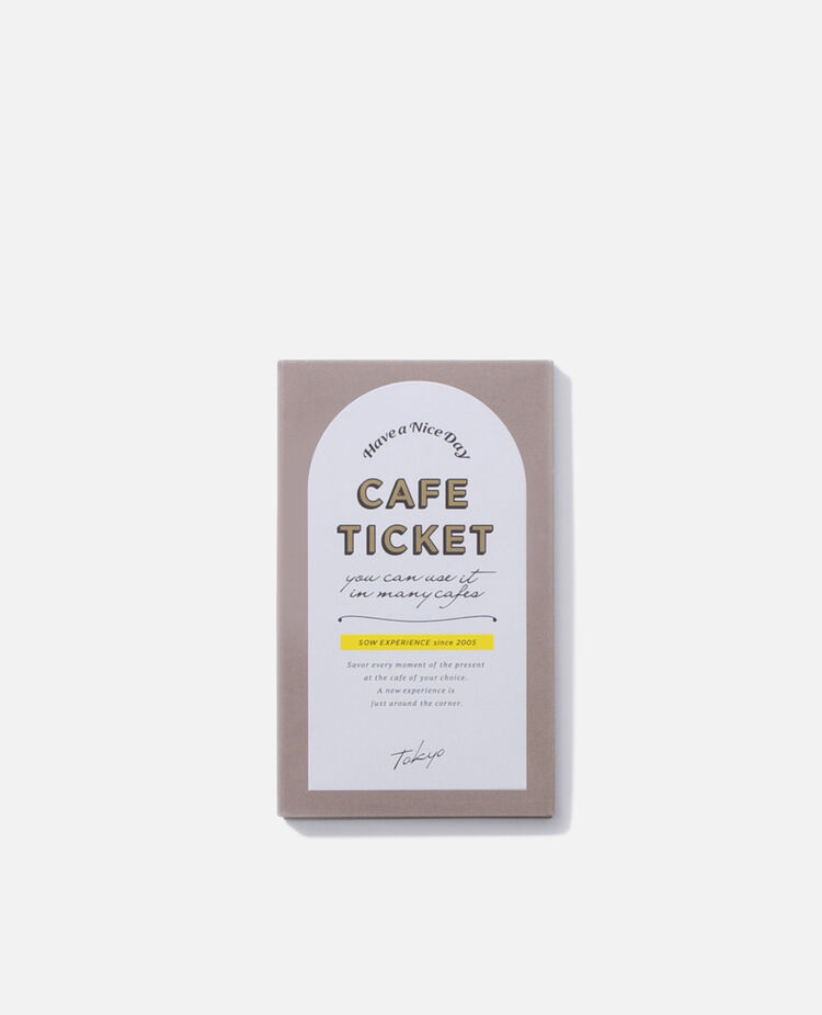 カフェチケット TOKYO ソウ・エクスペリエンス / SOW EXPERIENCE