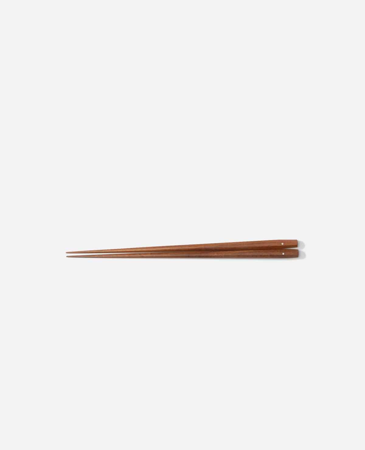 極上 十六角箸 紫檀 225mm