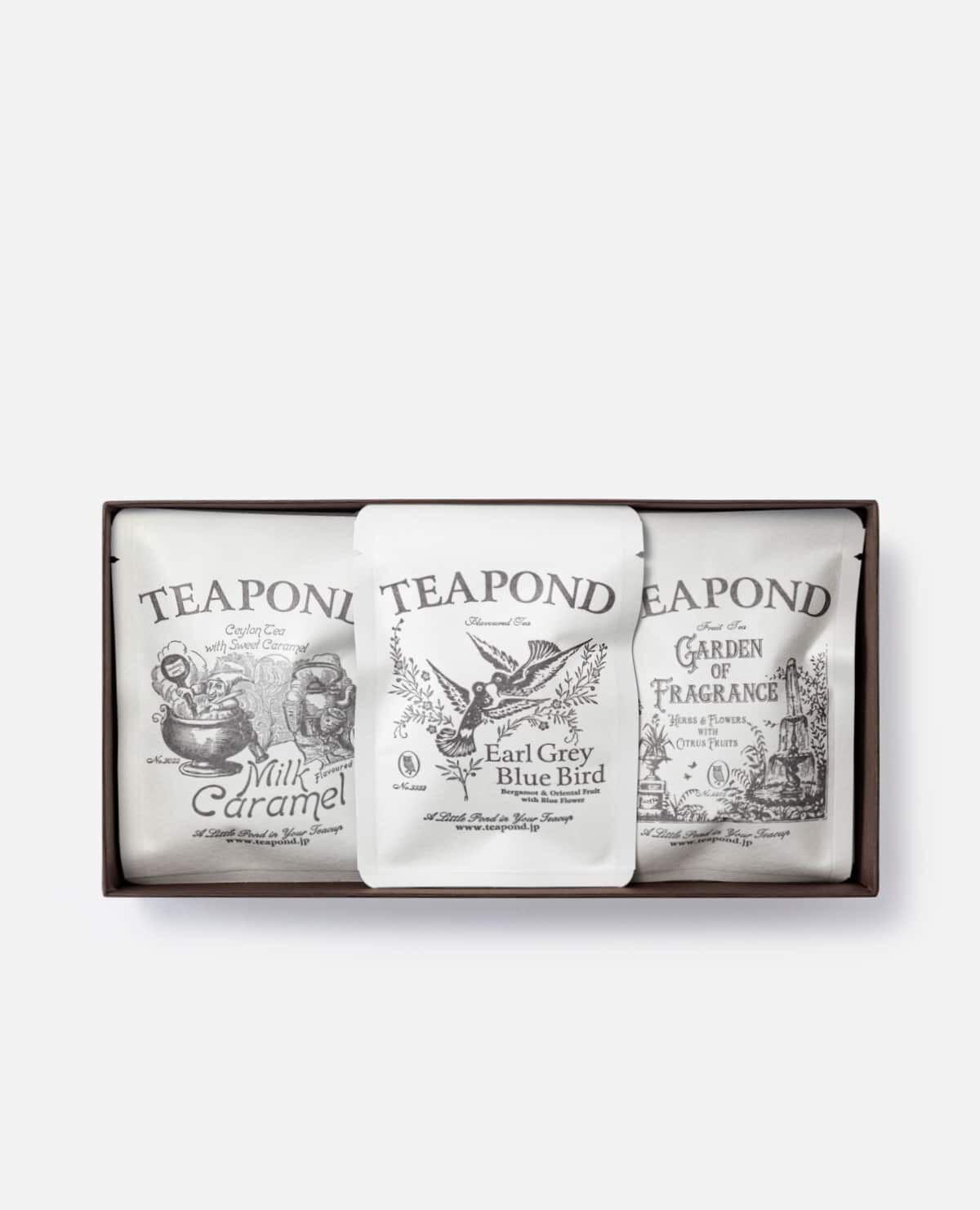 紅茶専門店のティーバッグギフト 20個入り(TEAPOND紅茶)