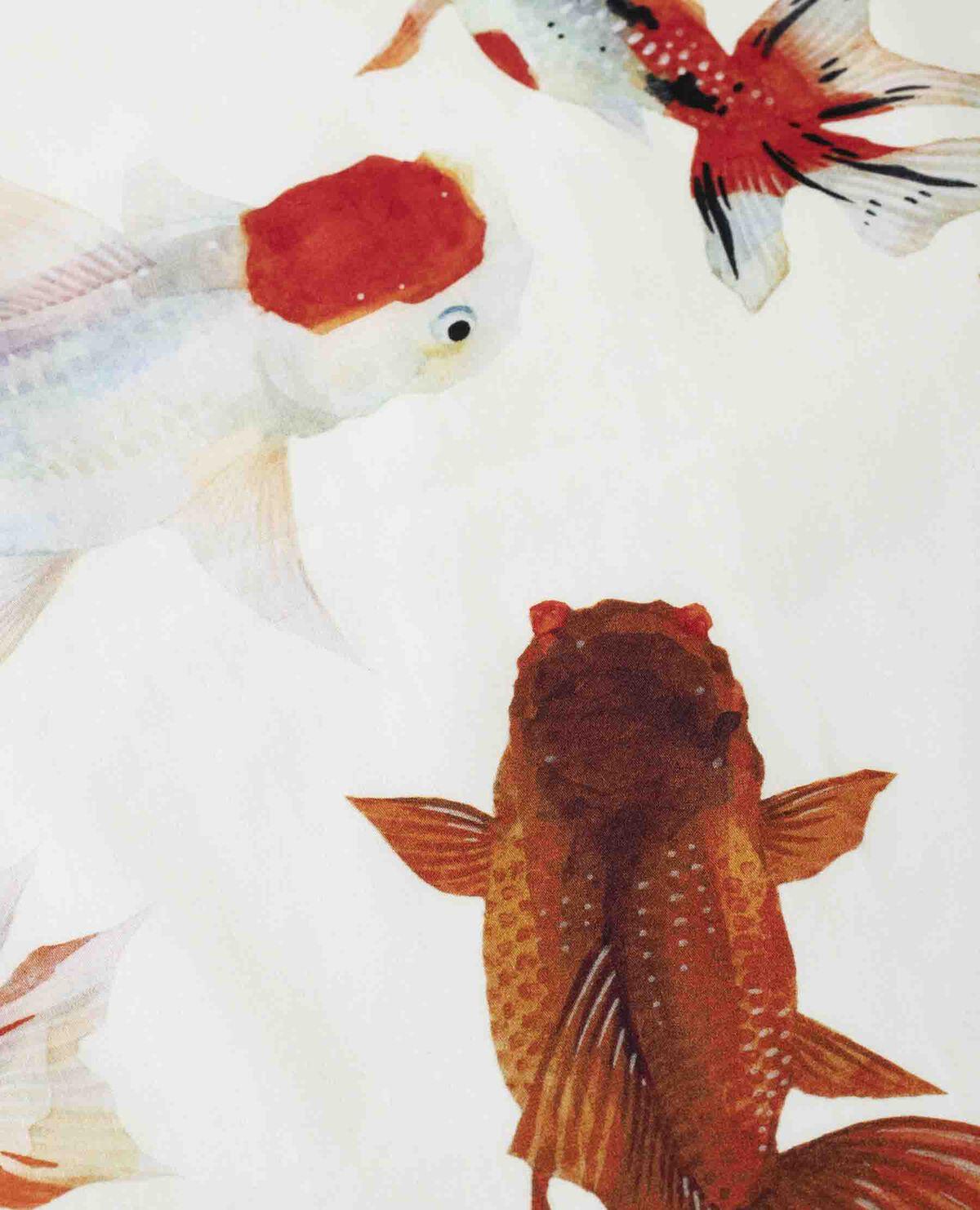 ハンカチ 金魚