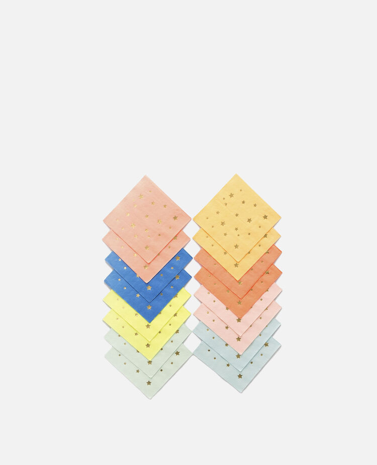 ナプキン スター 8色16枚入り メリメリ / merimeri