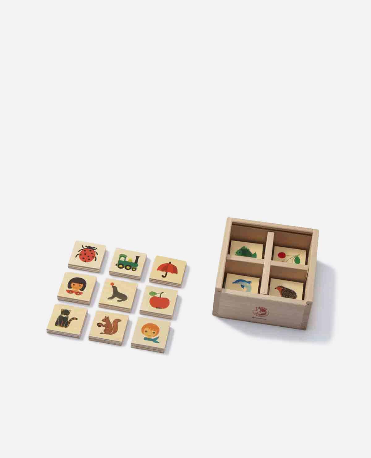 キーナーメモリー 木製 知育玩具 おもちゃ
