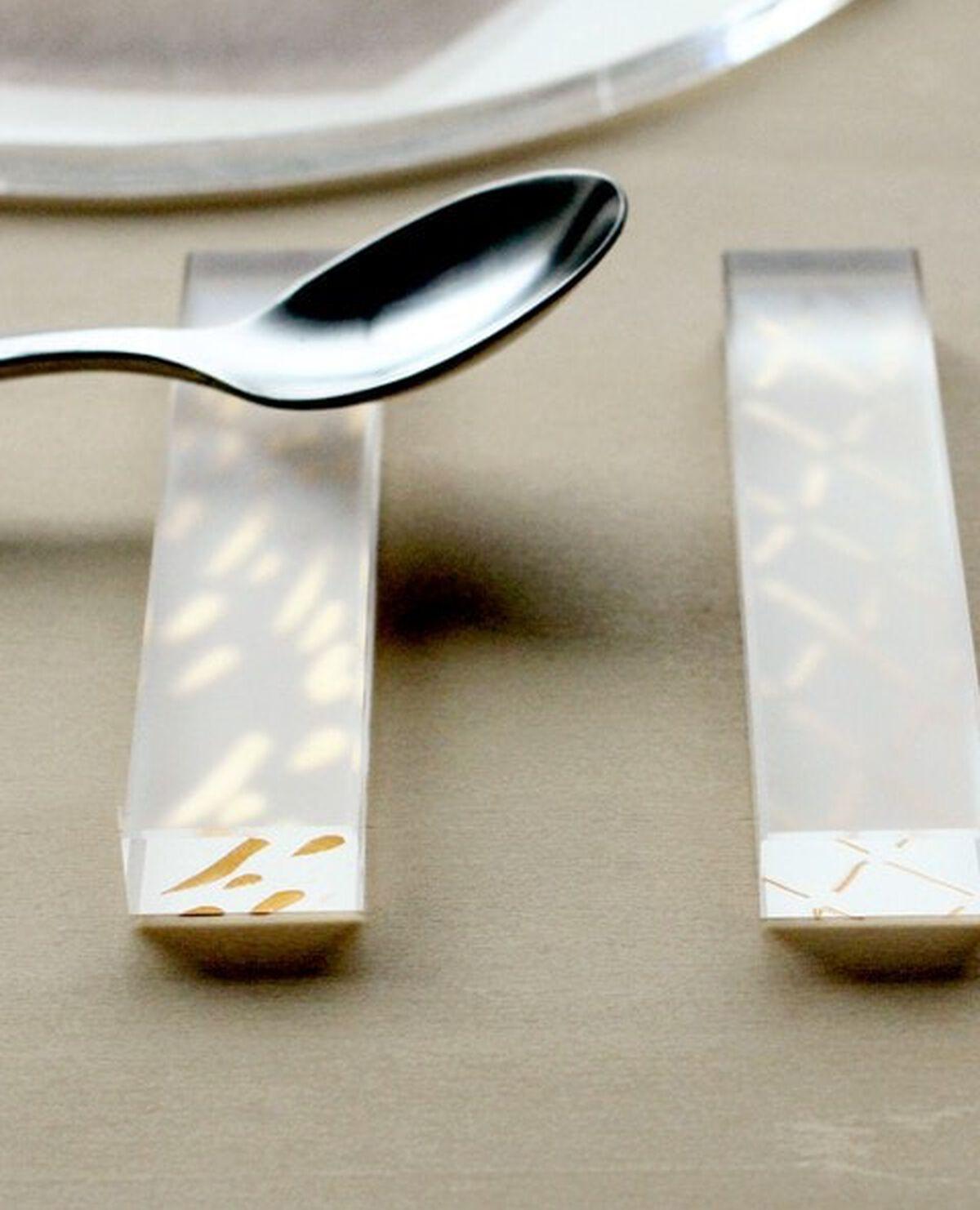 箔 カトラリーレスト 3個セット