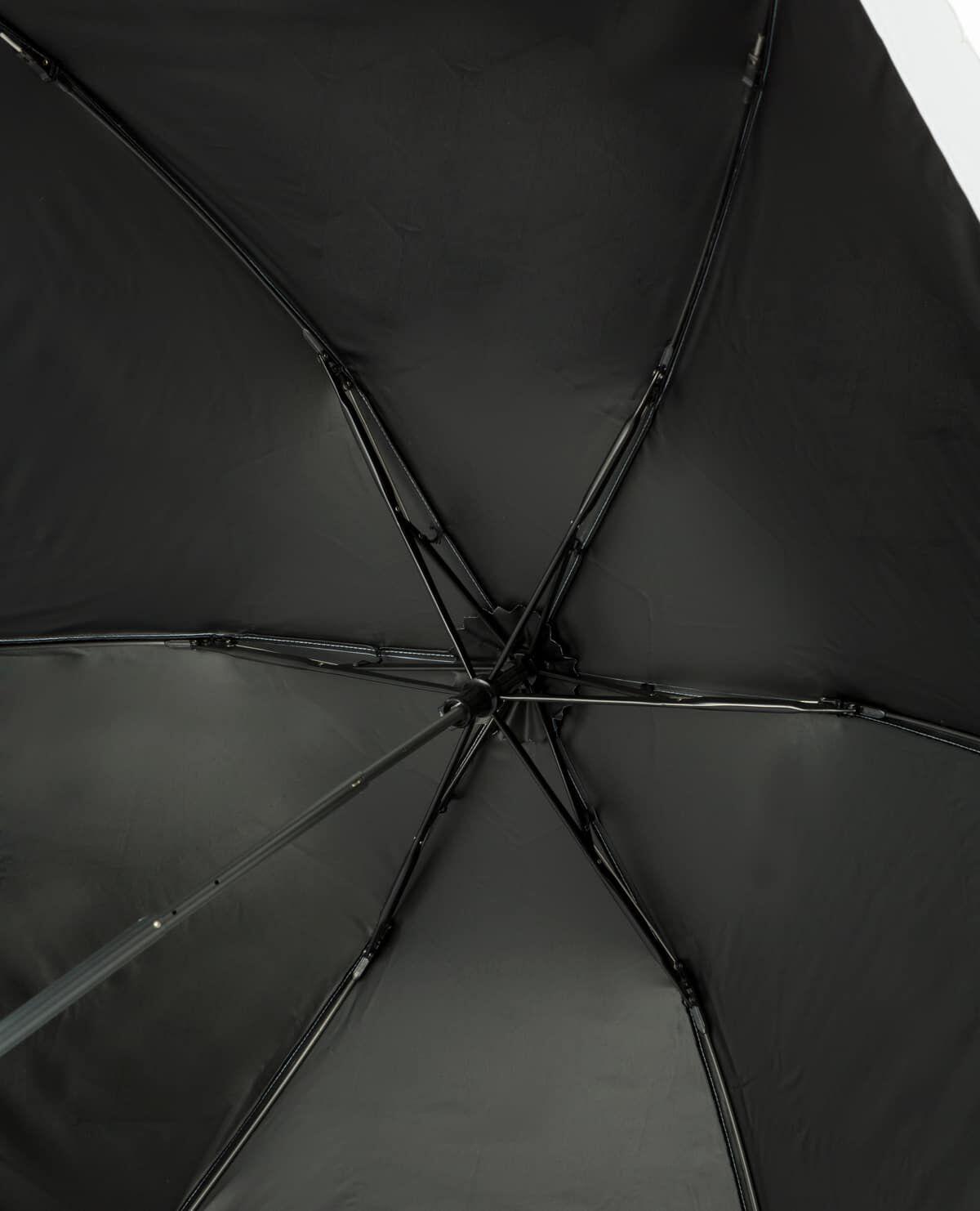 ウエーブカット トーションレース バイカラー 日傘