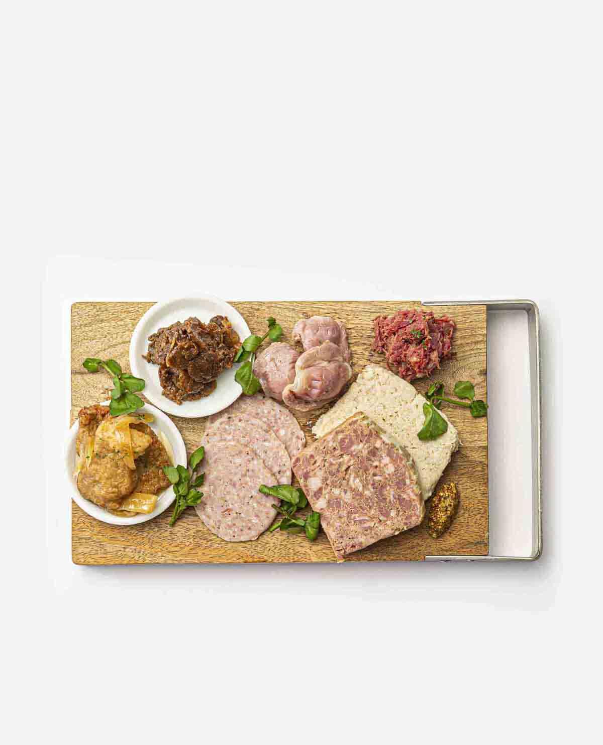 肉屋がつくる冷製おつまみ シャルキュトリーセット