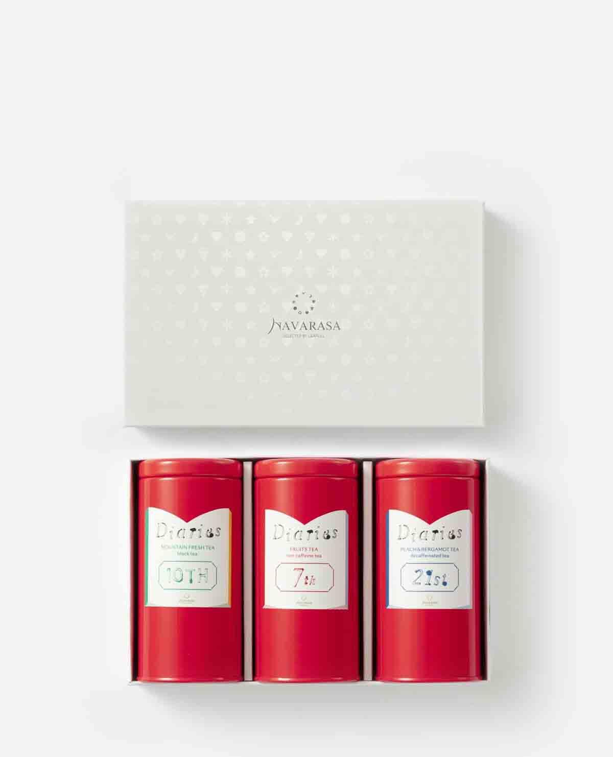 紅茶3種セット Diaries 10st&7th&21stスペシャルティーギフト