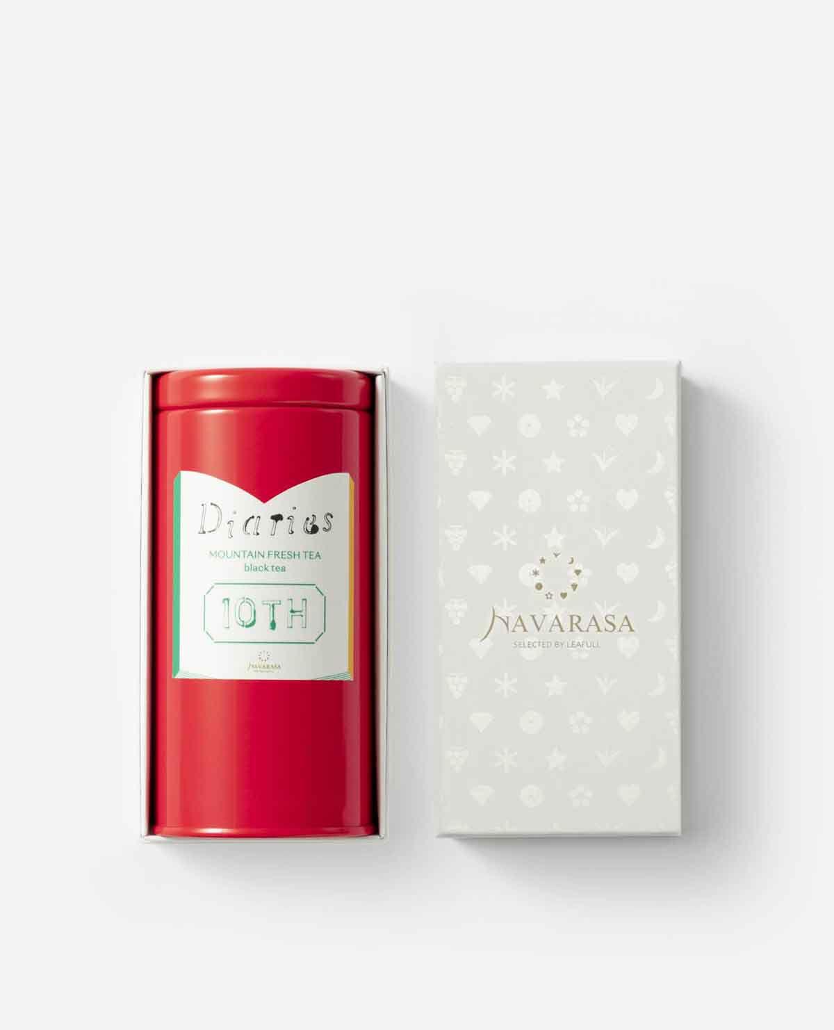 Diaries 10th マウンテンフレッシュティー(紅茶)