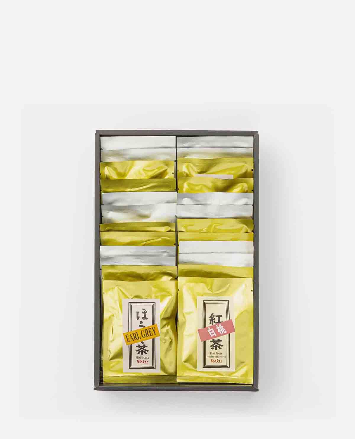 フレーバー日本茶 プレミアムギフトセット (ティーバッグ14個・ドリップタイプ10個入)