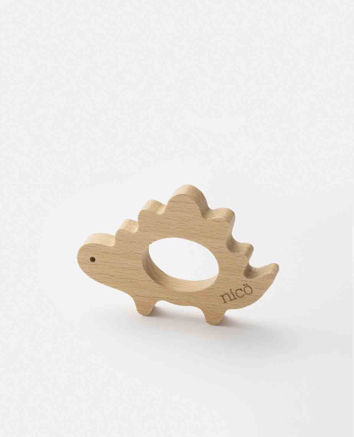 歯固め はがため 恐竜 木製