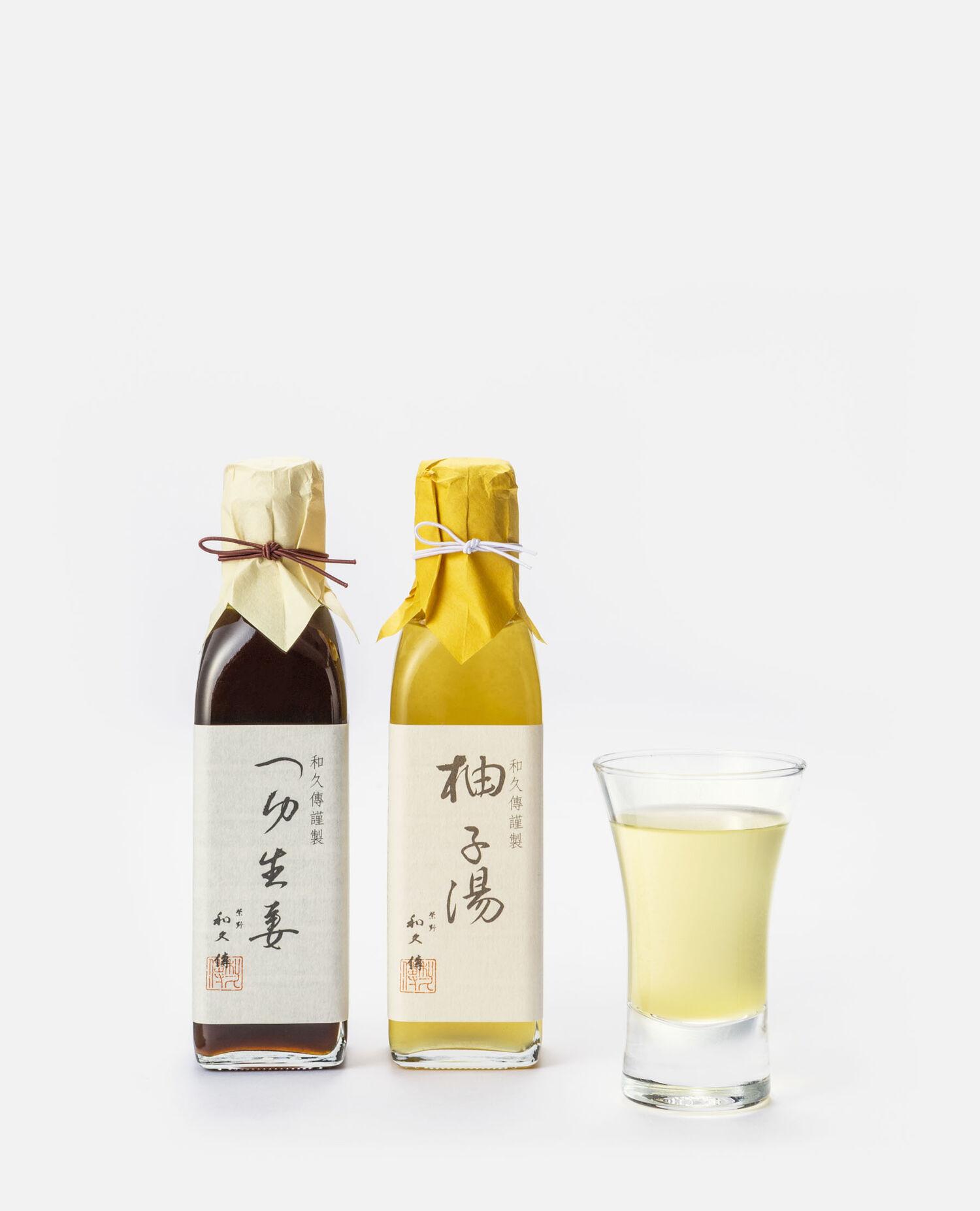 柚子湯・つゆ生姜詰合せ