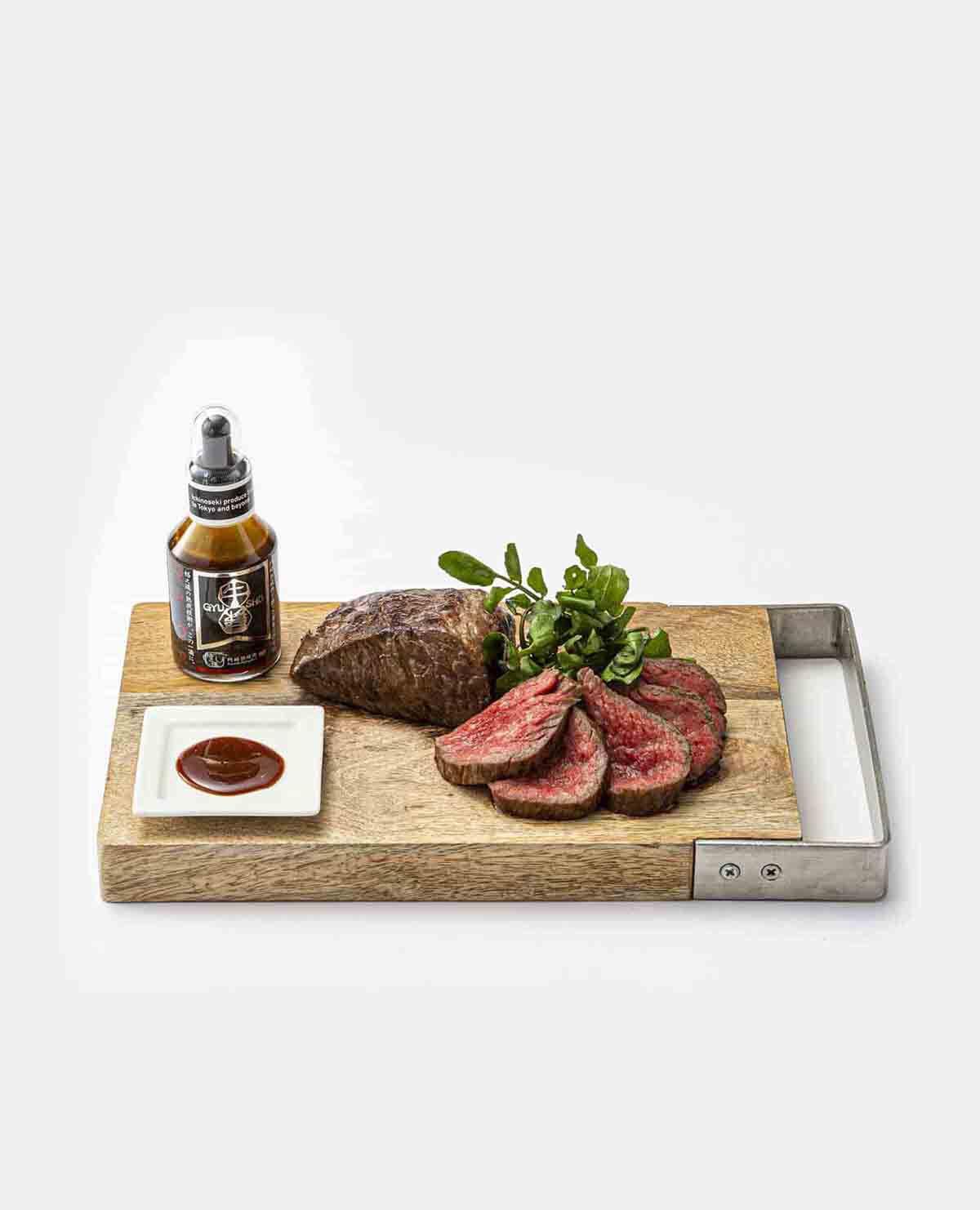 門崎熟成肉 塊焼・塊肉(霜降り120g×2個)&牛醤 ごちそうセット