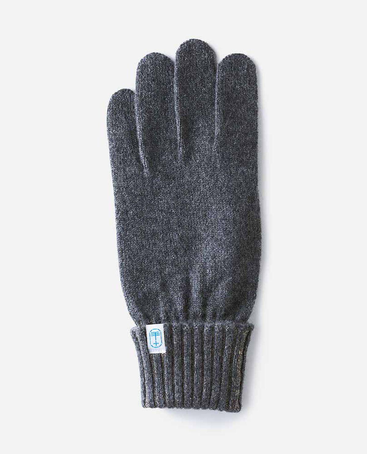 手袋 男性用 天竺 リブ