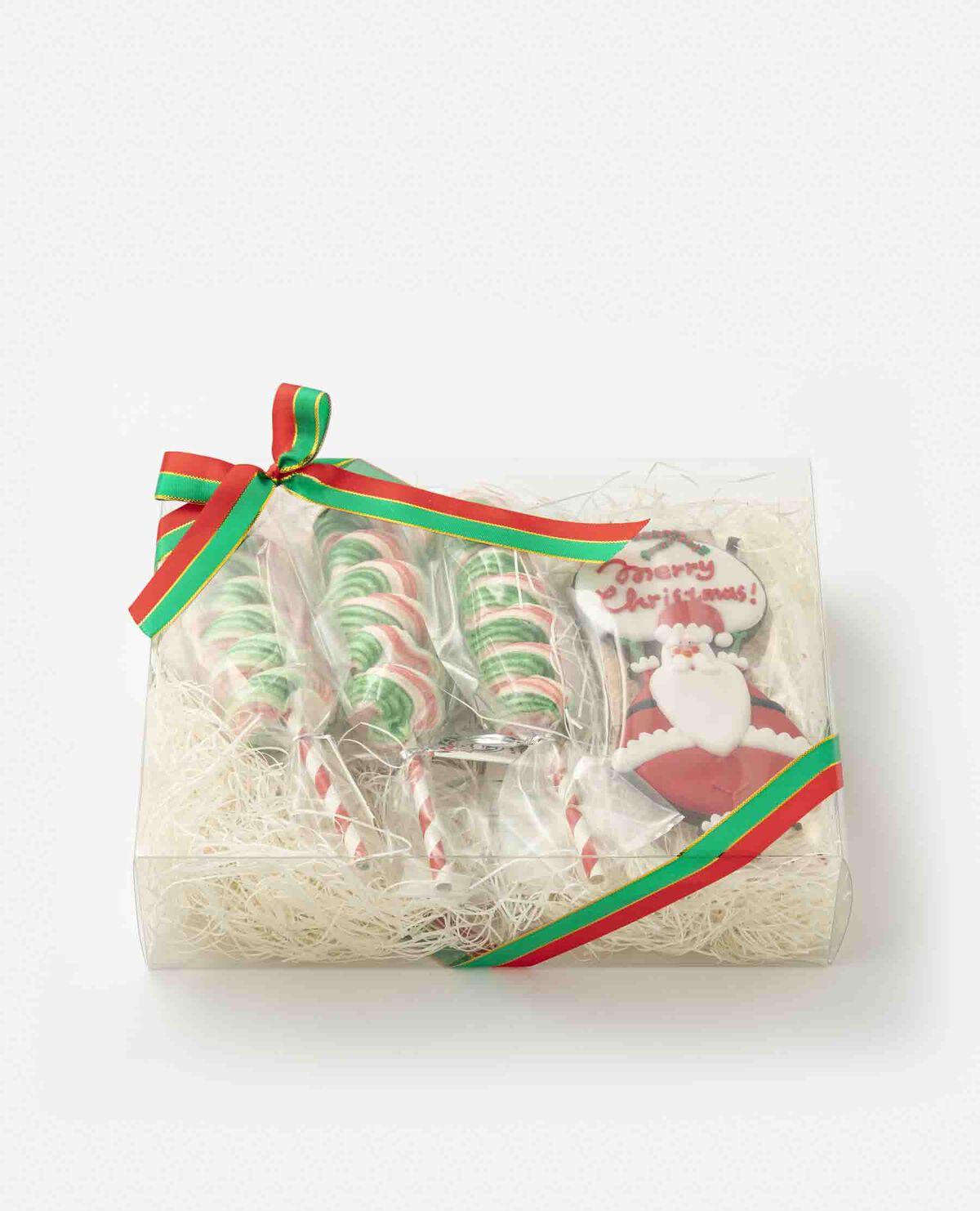 クリスマスメレンゲ菓子とクッキーセット