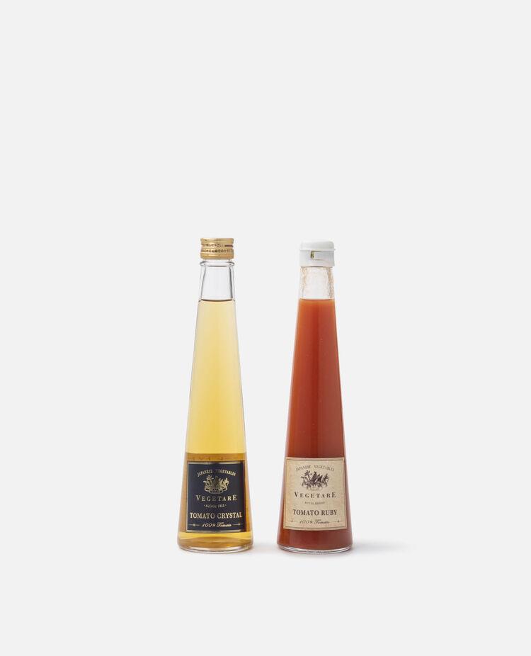 トマトクリスタル トマトルビー紅白トマトジュース2本セット