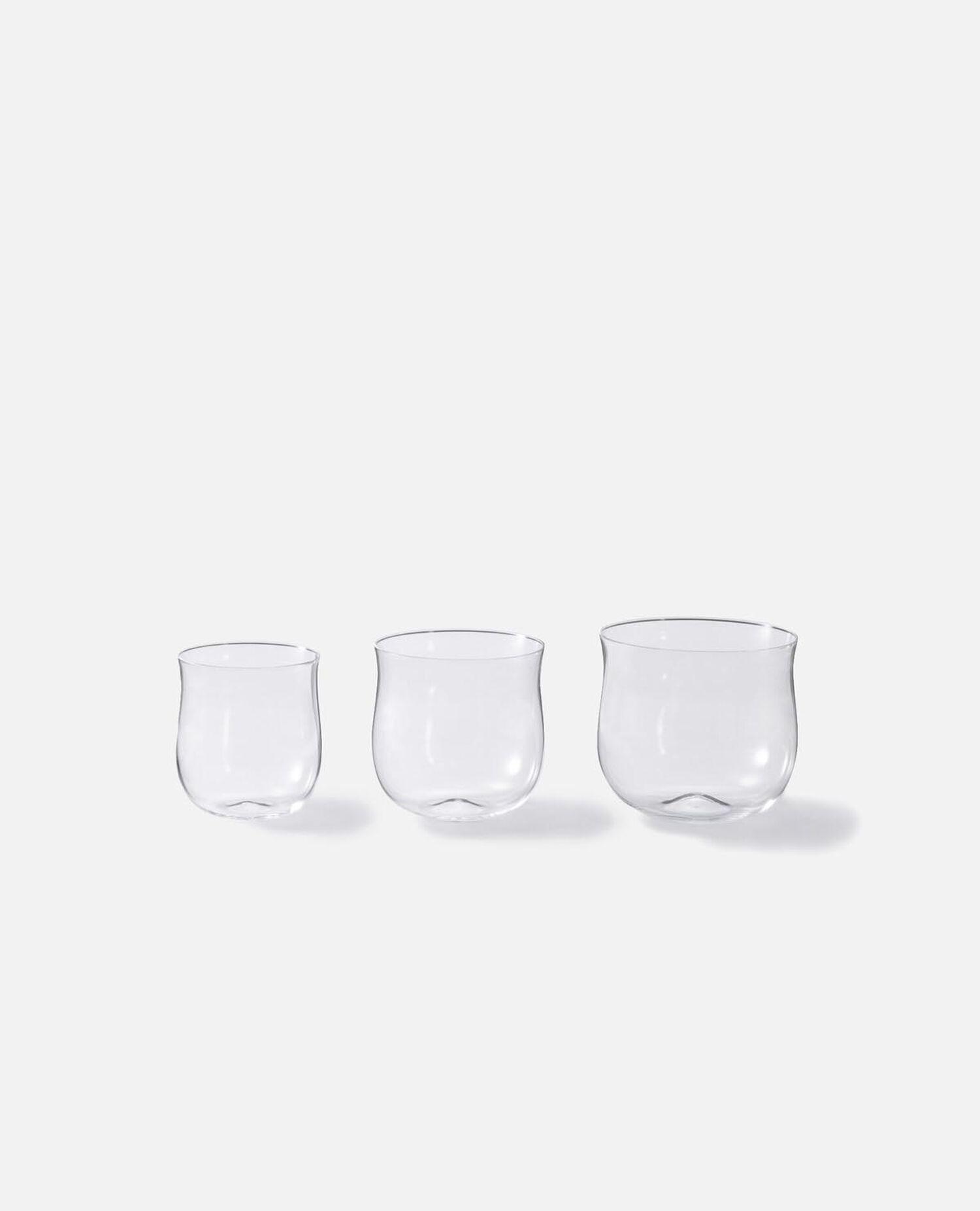 グラス 3個セット ラウンド