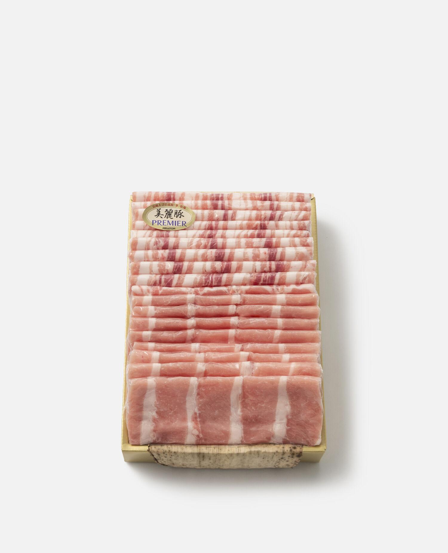 宮崎県産プレミアム美麗豚しゃぶしゃぶ詰合せ