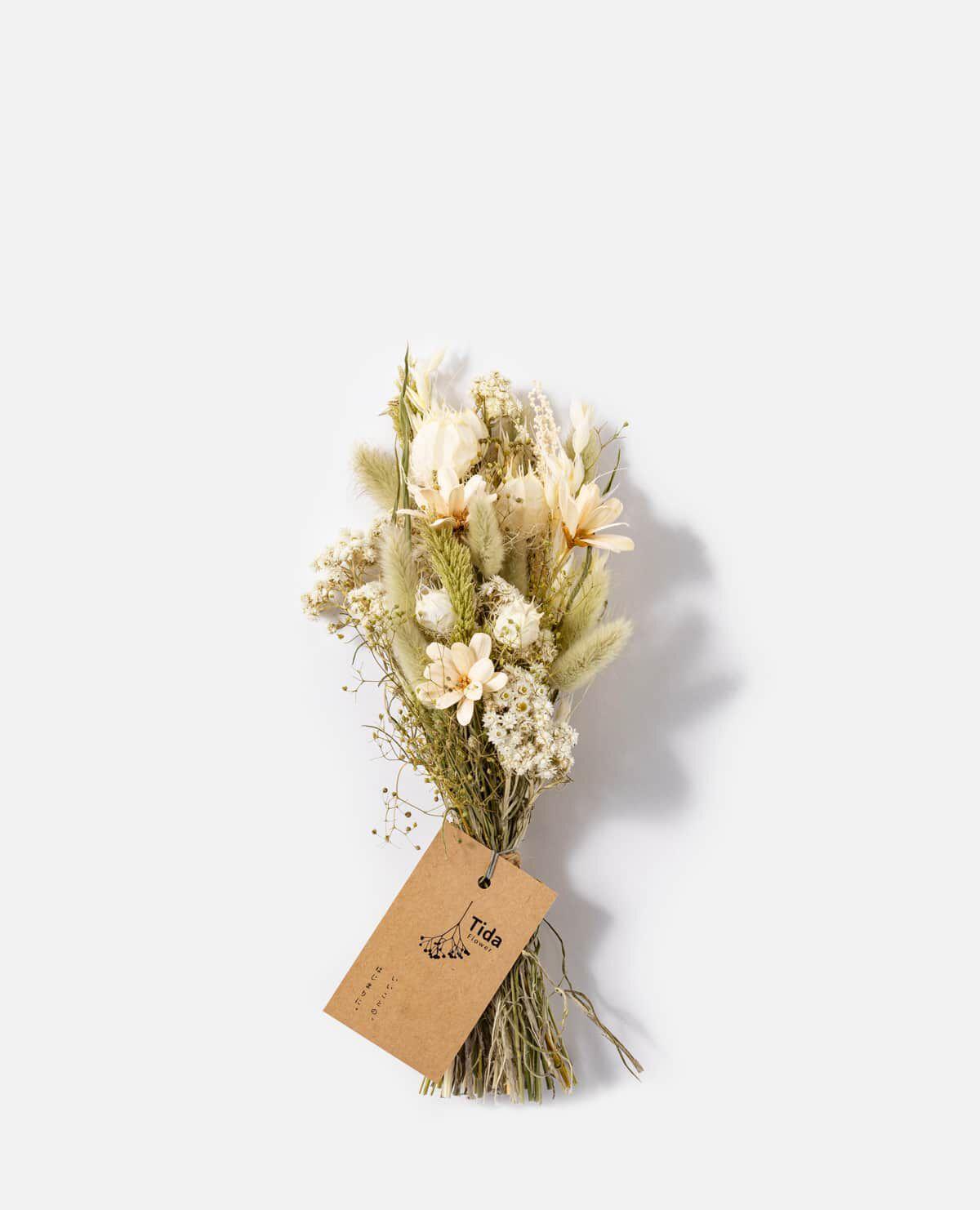 ホワイトグリーンミニスワッグ花材おまかせ【5/7(金)~9(日)届け ※日付指定不可】