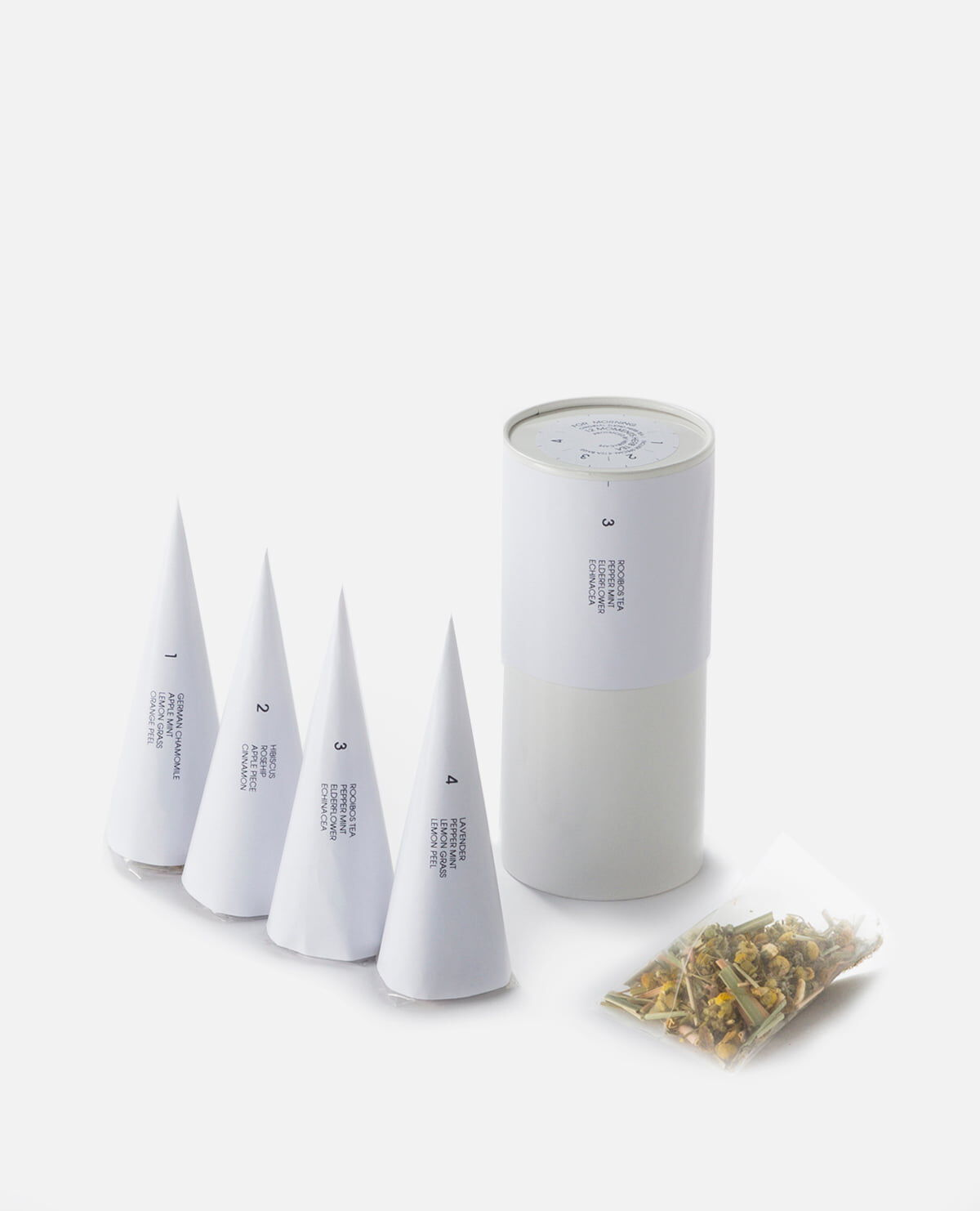 12MOMENTS HERB TEA for morning ハーブティーバッグ4種入り