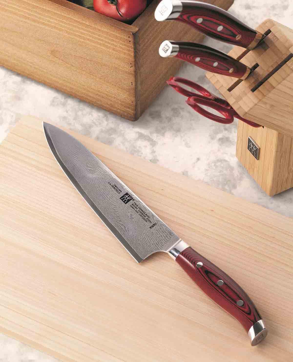 ツインセルマックス MD67 シェフナイフ 20cm